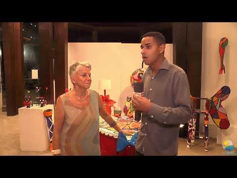 Entrevista com a Expositora a Artista Plástica Ivone R