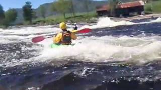White Water kajak in Norway 0809