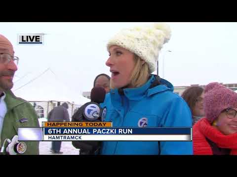 Sixth annual Paczki Run in Hamtramck