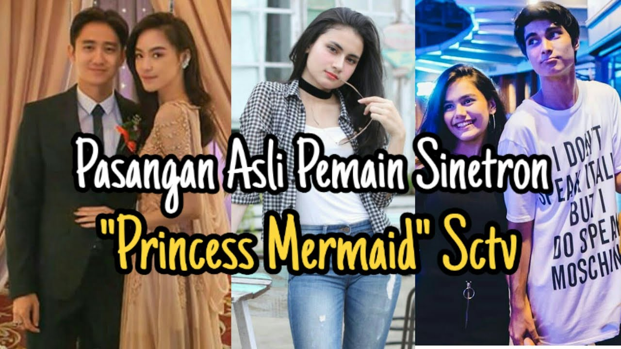 Baru Dapat Pasangan Asli Pemain Sinetron Princess Mermaid SCTV Ft Raisya Bawazier Dan Kenny Austin