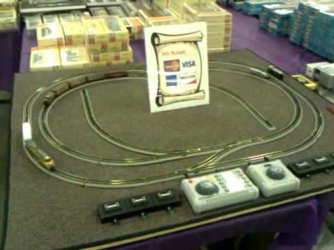 Small N Scale Demo Train Layout For Denver Train Show