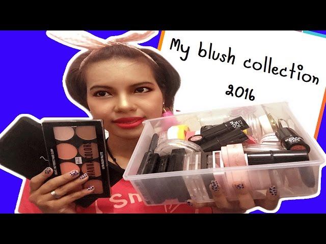 My blush collection 2016: ???????EP.5:??????? PART1 | Saranya.ffi