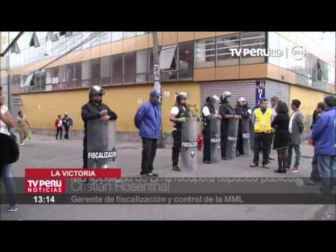 La Victoria: Municipalidad de Lima recupera espacios públicos en la avenida Grau