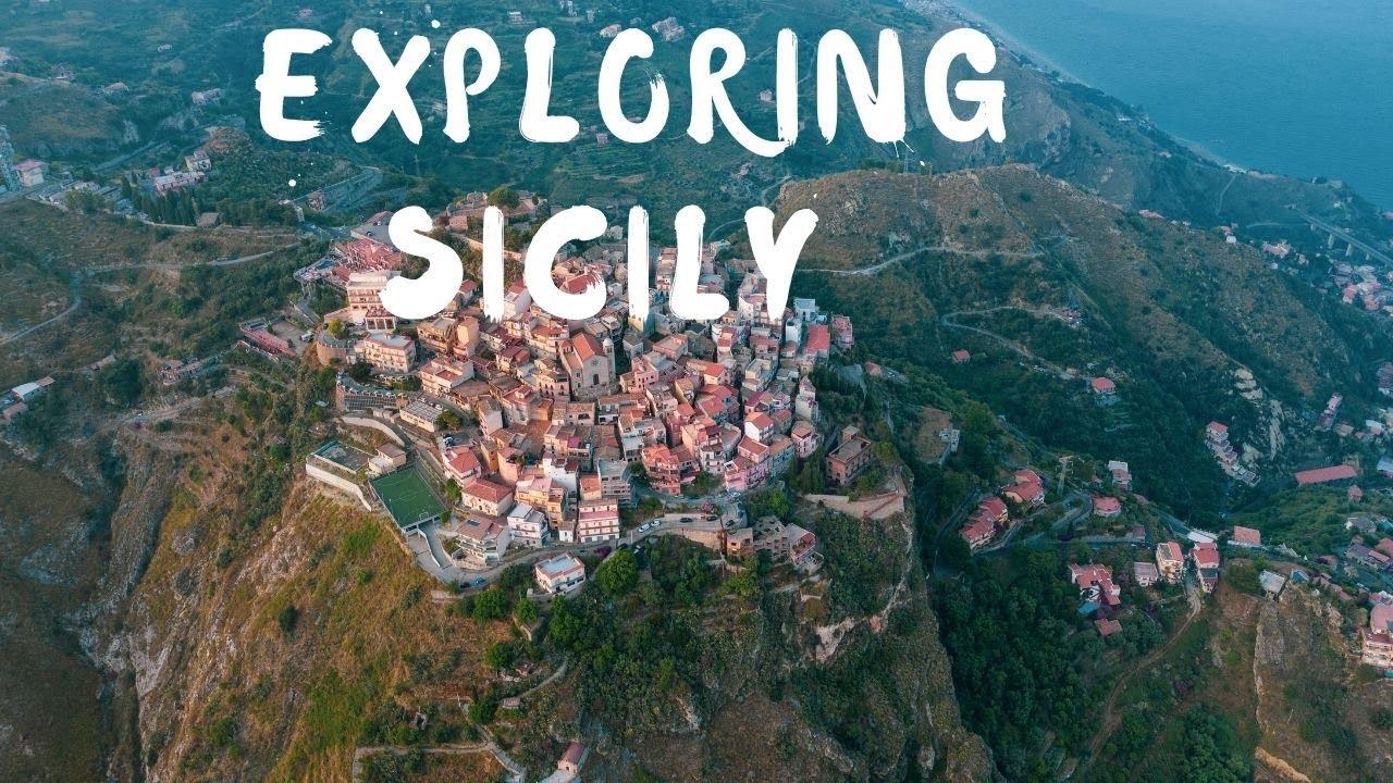 The beautiful island Sicily explored - DJI Mavic 2 Pro   Italy travel