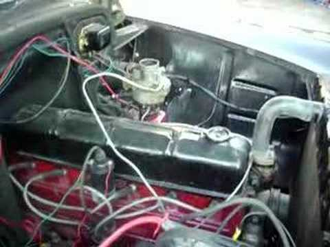 Chevy 216 Engine running for sale - YouTube