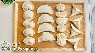 CHICKEN DUMPLINGS with DIPPING…