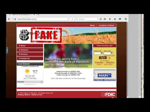 Redirect traffic to a wrong or fake site with DNS spoofing