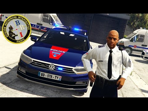 Police Nationale #1 | BRI - ATTAQUE DANS UN LIEU PUBLIC | GTA 5 RP [MULTI]