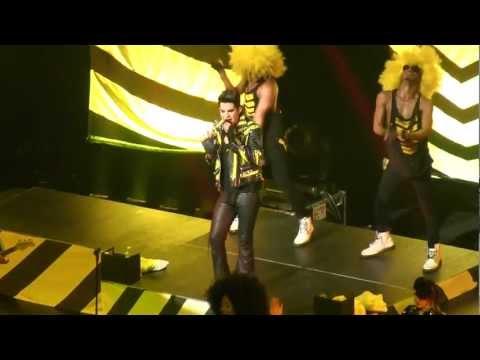 [HD] Adam Lambert Trespassing Live in Singapore 2013 Star Theatre