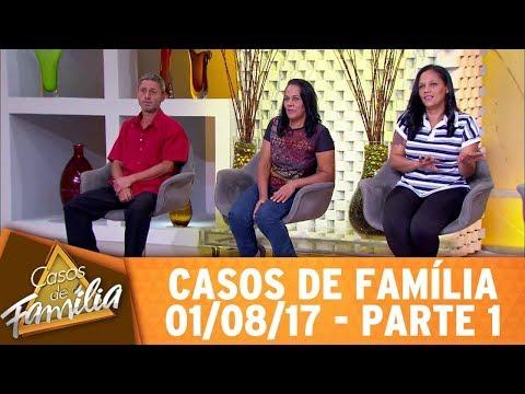 """Casos de Família (01/08/17) - """"Foi pecado casar com meu parente? Então, relaxa!"""" - Parte 1"""
