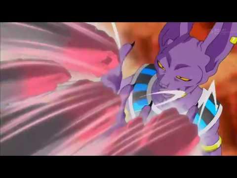 Bills destruye un planeta y recuerda al super saiyajin dios...