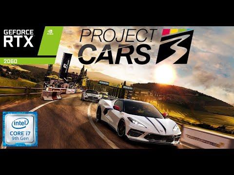 Project Cars 3 Benchmark | i7 9750H | RTX 2060 | Predator Helios 300 | ABG |