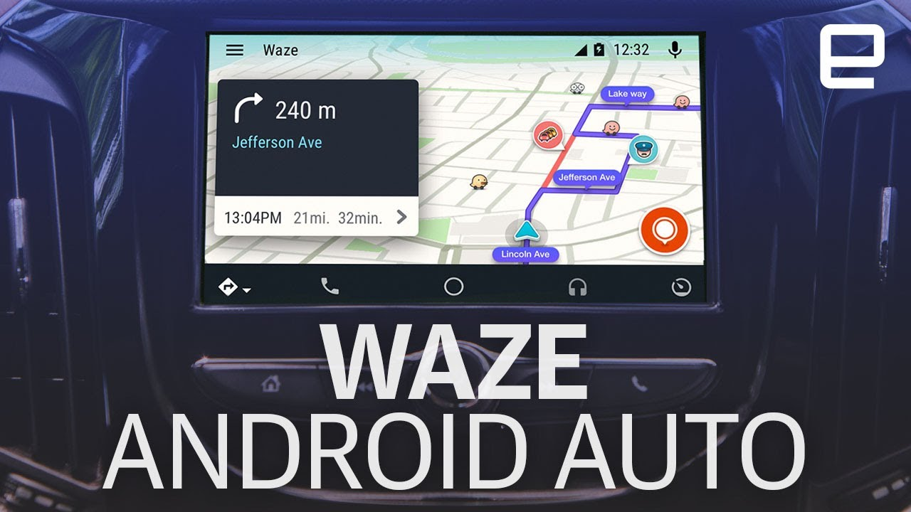 Waze For Android Auto Hands On