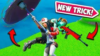 *NEW* CARRY SOMEONE WHILE GLIDING!! - Fortnite Funny Fails and WTF Moments! #731