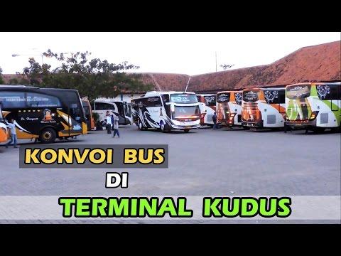 """Suatu Hari di Terminal """"Jati"""" Kudus yang Sibuk..., berkumpulnya Po Haryanto, Shantika, Bejeu, dll."""