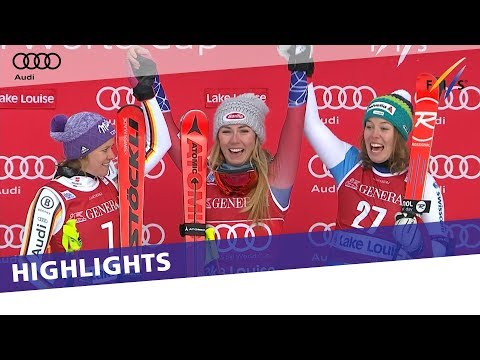 Highlights | Sensational Shiffrin nabs first win in Downhill at Lake Louise | FIS Alpine
