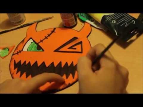 Tutorial] Kingdom Hearts - Sora's Mask [Halloween Town] | Español ...