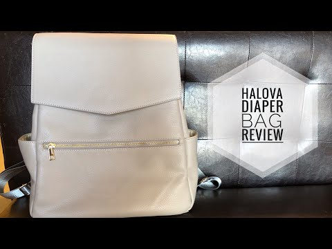 HaloVa Diaper Bag Review!! Freshly Picked Dupe?