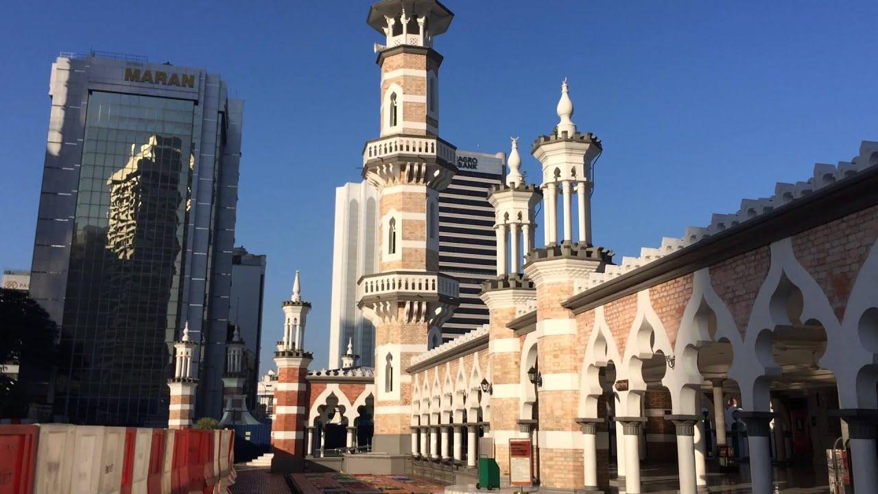 Masjid Jamek, Kuala Lumpur - YouTube on