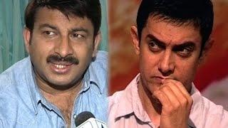 BJP MP Manoj Tiwari calls Aamir Khan a traitor, says source