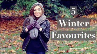 Top 5 Winter Style Essentials | Amelia Liana Thumbnail