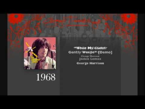 George Harrison Music Timeline, all of George's songs by date recorded