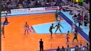 1996 G5 Teamsystem Fortitudo Bologna vs Benetton Treviso (1/4)