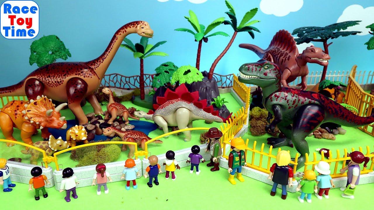 Customized Playmobil Dinosaur Park - Dino Toys