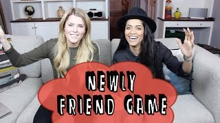 NEWLY FRIEND GAME (ft. iiSUPERWOMANii) // Grace Helbig Thumbnail