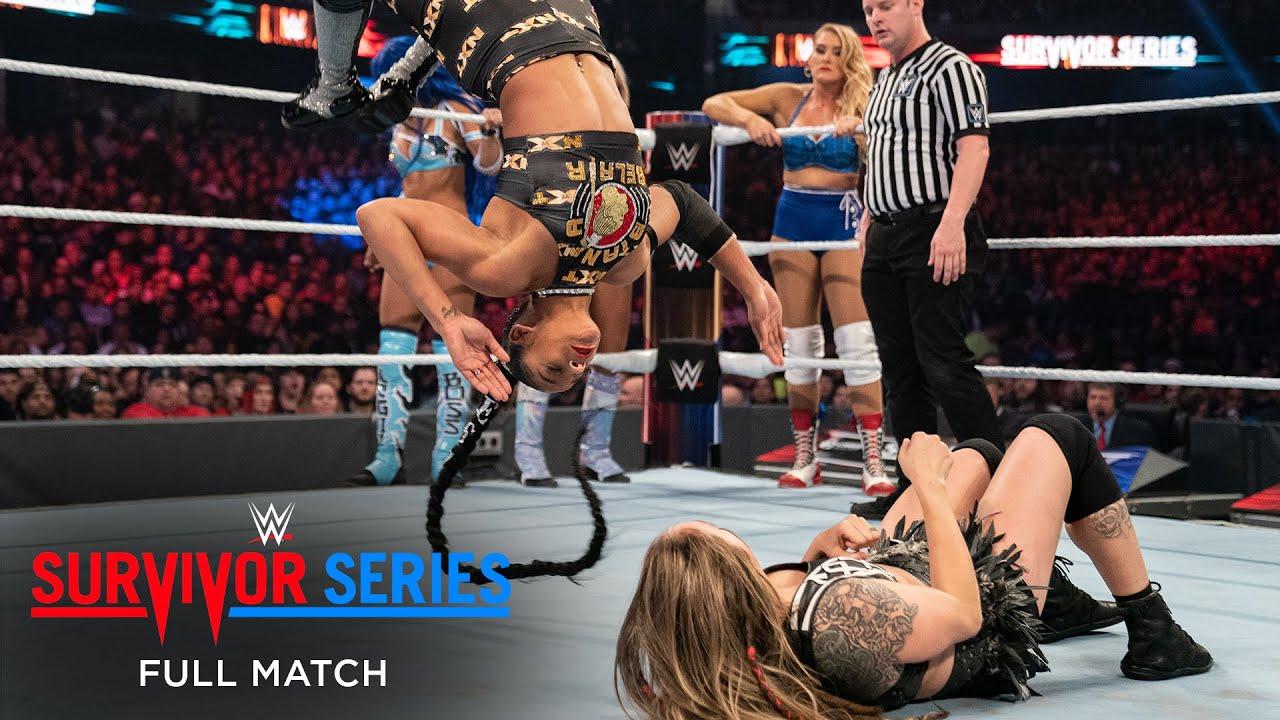 Download FULL MATCH- NXT v. Raw v. SmackDown- Women's Survivor Series Elimination Match: Survivor Series 2019
