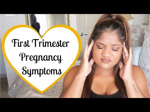 FIRST TRIMESTER PREGNANCY SYMPTOMS BEFORE & AFTER BFP: NAUSEA & CRAMPING