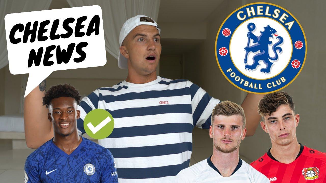 Chelsea FC NEWS: Havertz + Werner UPDATES    Hudson-Odoi Allegations FALSE