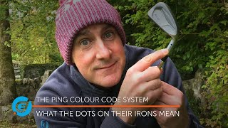 PING Colour Codes: Wнat do the dots on their irons mean???