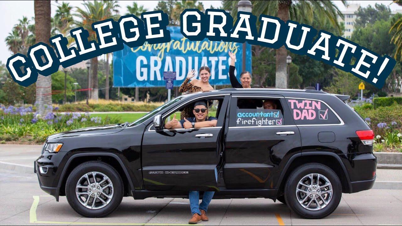 Fabian Graduated! Cameryn is in school!