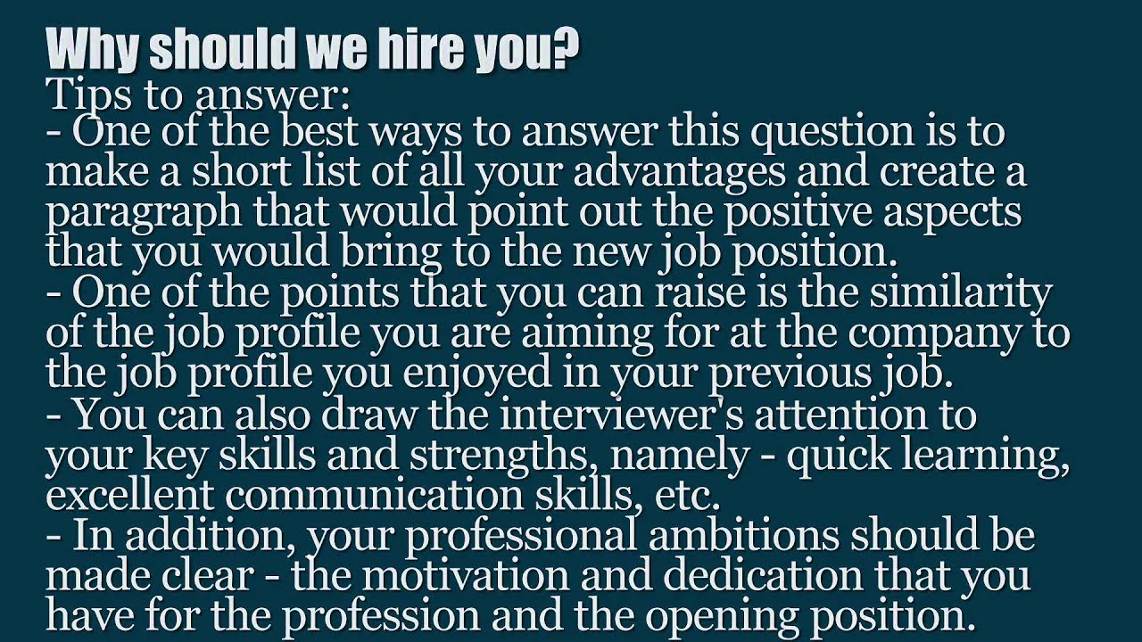 top hr recruiter interview questions and answers