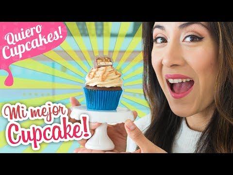 CUPCAKES DE SNICKERS | El más delicioso 😋 | Quiero Cupcakes!