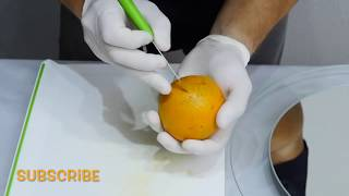 Art with fruits how to do? | By J.Pereira Art Fruit carving & Vegetables