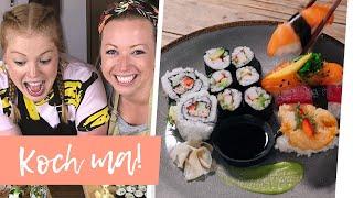 Sushi selber machen mit Zoras Schwester | Koch ma!