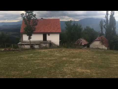 Land size 22000 m2, location seven km over Old town in Sarajevo( over Bascarsija). All services