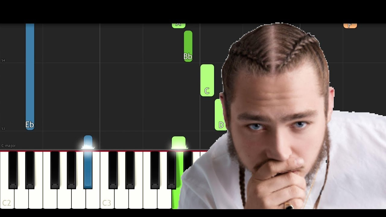 Post Malone Piano Tutorials By Dario D'Aversa