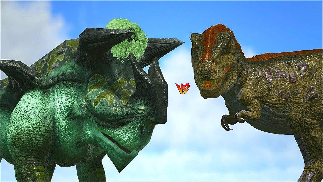 Ark Survival - FIRCARA vs ALLO/SPINO/TREX and more [Ep 445]