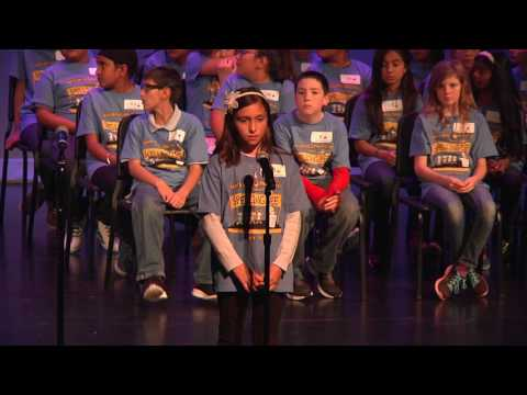 Bonita Unified School District 13th Annual Spelling Bee 2017