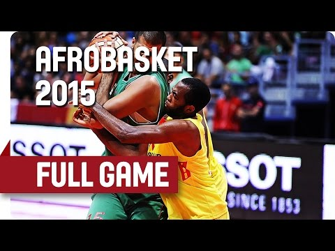Cameroon v Algeria - Round of 16 - Full Game - AfroBasket 2015