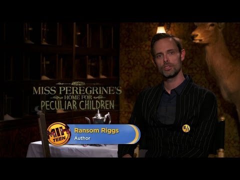 "Author Ransom Riggs on ""Miss Peregrine's Home"""