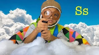 Little Passports Adventure to Antarctica.  Learning the Alphabet Letter S Video for Kids.