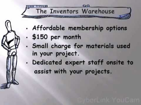 Inventors Warehouse Crowd Funding Campaign