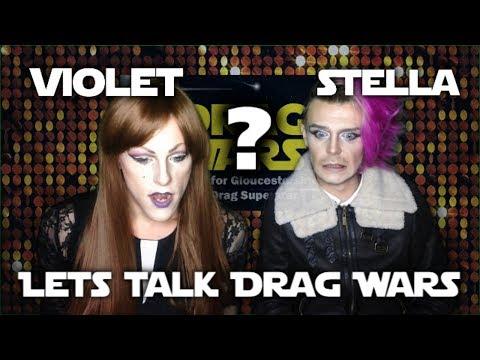 LET'S TALK DRAG WARS   Audition Tape Review [feat. Violet DiaMonté & Stella Von Klutch]