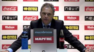 La Liga   Rueda de Prensa de Caparrós tras el Rayo Vallecano - Mallorca (1-0)   24-11-2012   J13