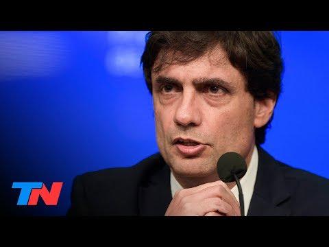 Hernán Lacunza, ministro de Economía: la primera conferencia de prensa COMPLETA
