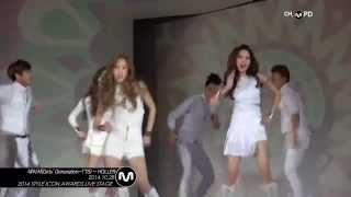 [MPD/직캠] 141028  |2014 SIA| Girls' Generation-TTS - HOLLER